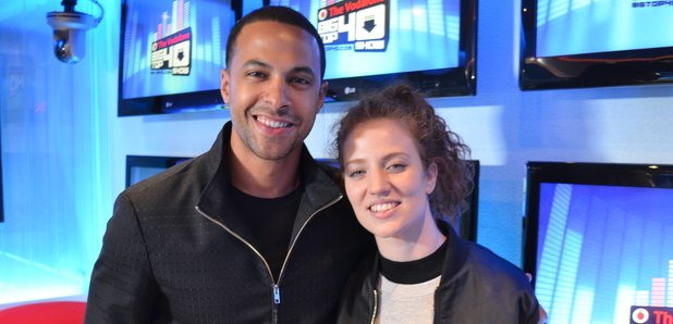 Jess Glynne Marvin Big Top 40