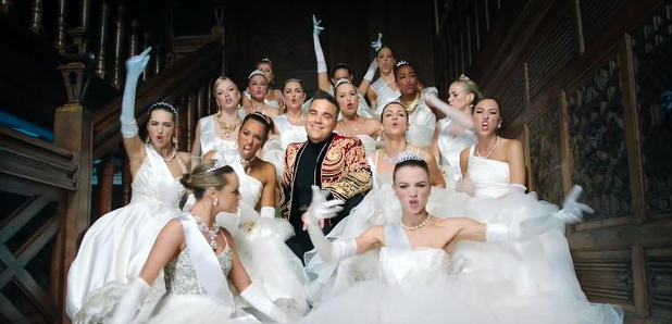 Robbie Williams Party Like A Russian Music Video