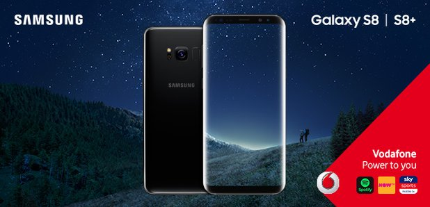 Samsung Galaxy S8+ Vodafone Competition